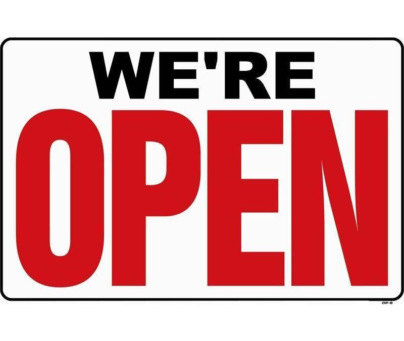 COVID-19 – WE'RE OPEN